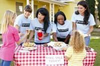 host a bake sale