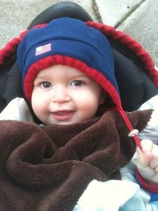 Baby AJ- taken a year ago this week.