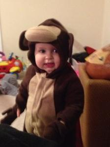 Our sweet little monkey