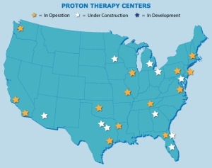 Proton Therapy Centers Location Map and Listings