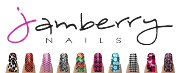 jamberry logo and nails